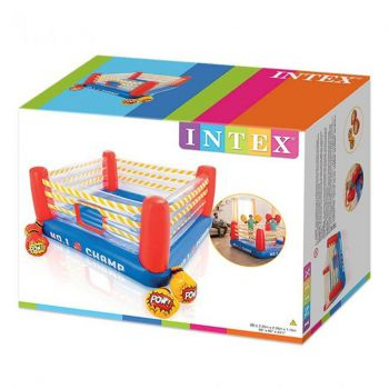 Intex Jump-O-Lene Boxing Ring Inflatable Bouncer (48250)