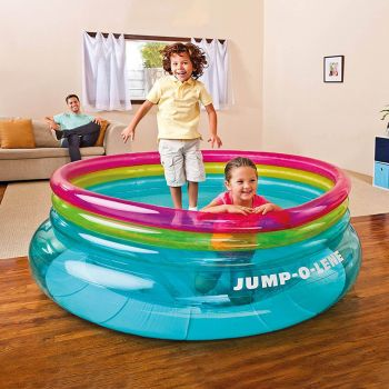 Intex Inflatable Jump-O Lene Ring Bouncer For Kids (48267)
