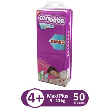 Canbebe Jumbo Pack For Maxi Plus 50Pcs
