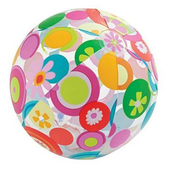 Intex Lively Print Beach Ball Footbll Pattern (59050)