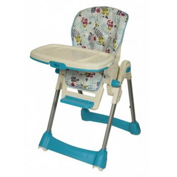 Tinnies Baby Adjustable High Chair (BG-89) - Blue