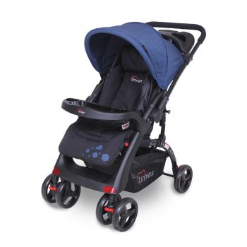 Tinnies Baby Stroller Black (C-18DB)