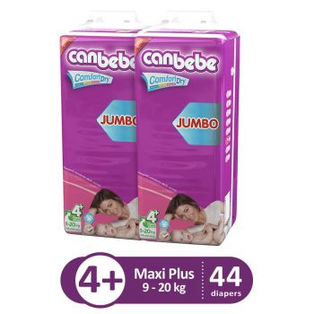 Canbebe Pack Of 2 Jumbo Pack For Maxi Plus 44Pcs