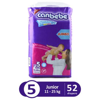 Canbebe Jumbo Pack For Junior 52Pcs