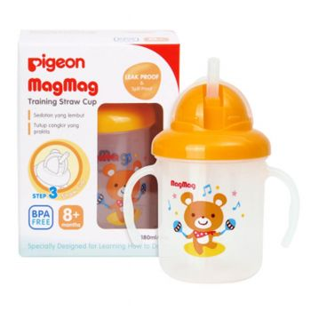 Pigeon Mag Mag Training Straw Cup (D905)