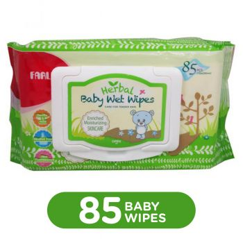 Farlin Baby Herbal SkinCare Wet Wipes Refill 85Pcs (DT-006D-1)