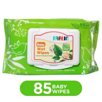 Farlin Moisture Baby Wipes 85Pcs Skin Care (DT-006D)