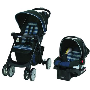 Graco Comfy Cruiser Click Connect Travel System, Caden