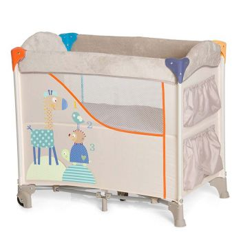 Hauck Sleep-n-Care Baby Nest Animals Travel Cot