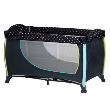 Hauck Sleepn Play Center II Multi Dots Navy