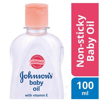 Johnson's Baby Oil Regular 100ML