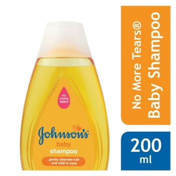 Johnson's Baby Shampoo 200ML (Gold) New