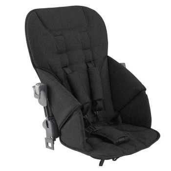 JOOVY Caboose S Rear Seat Gray Melange Or Black Melange