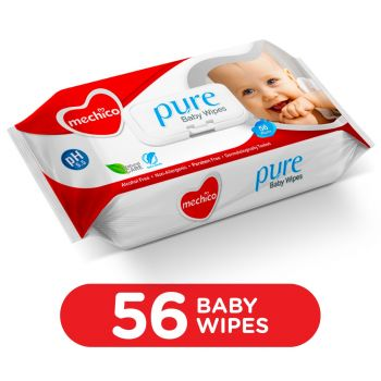 Mechico Baby Wipes (Small) 56Pcs