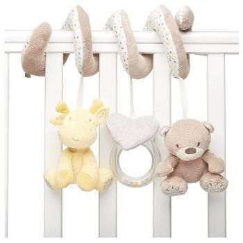 Mothercare Spiral Cot with Teddy's Toy Box
