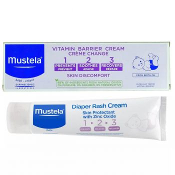 Mustela Vitamin Barrier Cream New 50ML