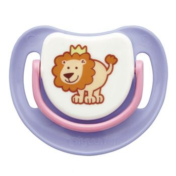 Pigeon Silicone Pacifier Step 1 (Purple) (N13688)