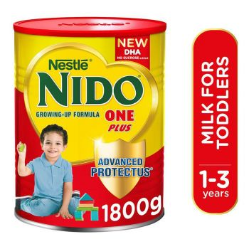 Nestle Nido 1+ 1800gms Tin Growing Up Formula