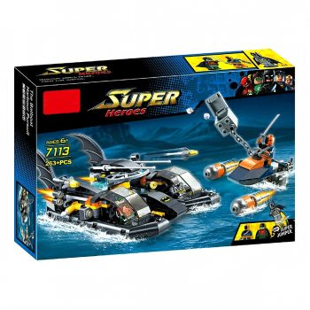 Lepin Batman Lego Batboat Harbour Pursuit 7113 (PX-9439)