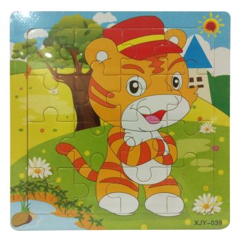 Planet X Cat Wooden Jigsaw Puzzle 6inch (PX-10446)