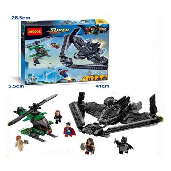 Decool Heroes Of Justice - Sky High Battle Building Blocks 7118 (PX-10340)
