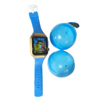 Planet X Marvel Avengers Digital Kids Watch With Plastic Egg Container (PX-10267)