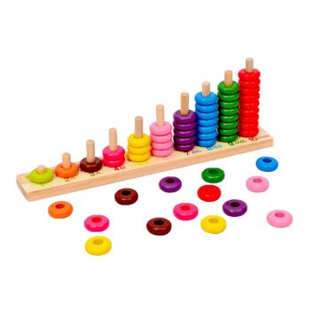 Planet X Number Counting Circles Wooden (PX-9008)