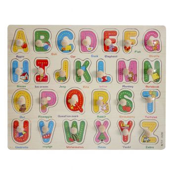 Planet X Wooden Puzzle Learning Words (PX-9033)