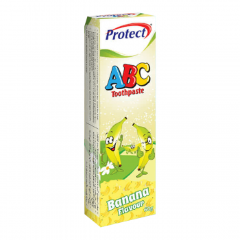 Protect-ABC Banana Toothpaste 60gms (0104)