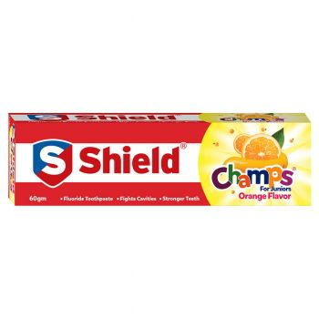 Shield Champs Orange Toothpaste 60gms