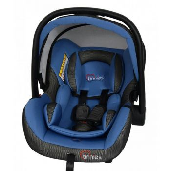 Tinnies Baby Carry Cot Blue (T002)
