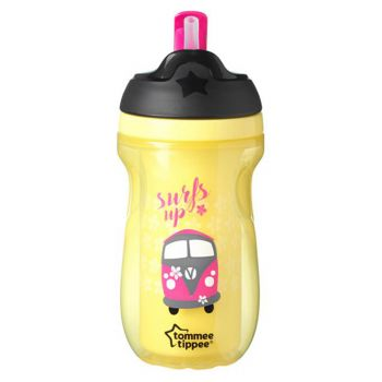 Tommee Tippee Active Straw Cup Yellow (TT 447027)