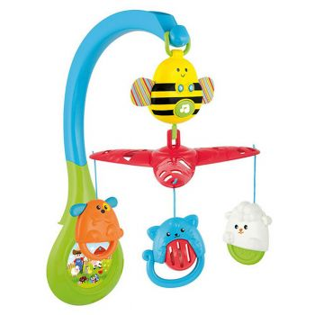 WinFun Musical Bee Carousel For Bed (0856)